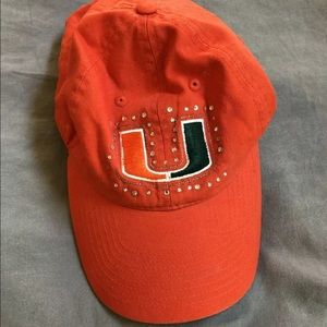 Victoria's Secret PINK Miami Canes Bling Hat